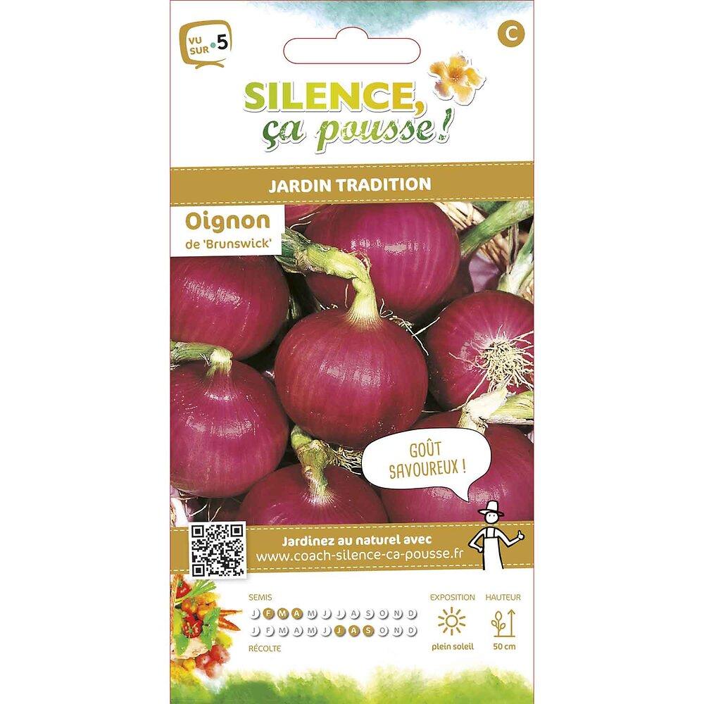 Semences de oignon rouge de brunswick 3g