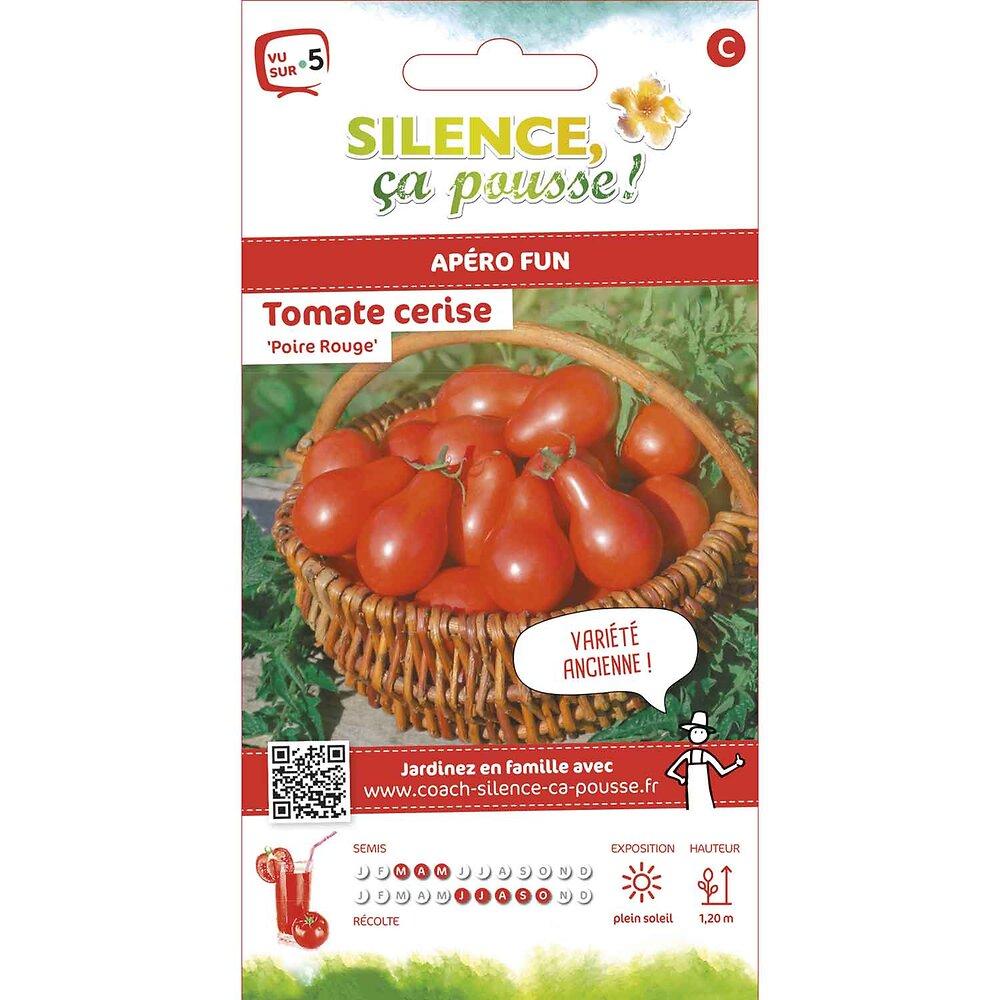 Semences de tomate poire rouge 0.2g