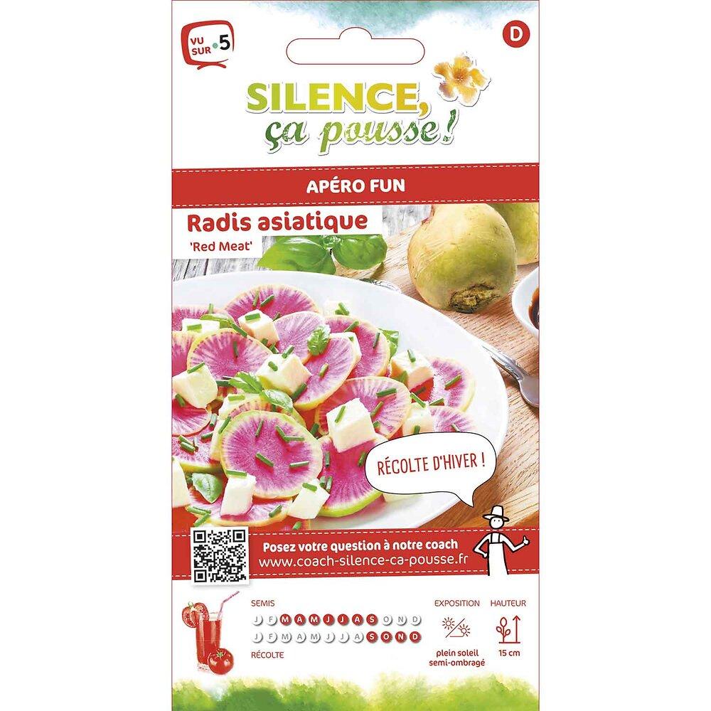 Semences de radis asiatique red meat 0.6g