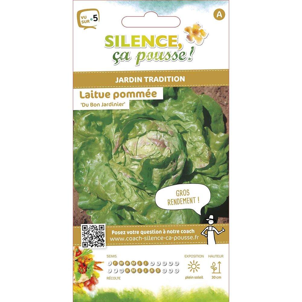 Semences de laitue pommée du bon jardinier 3.5g