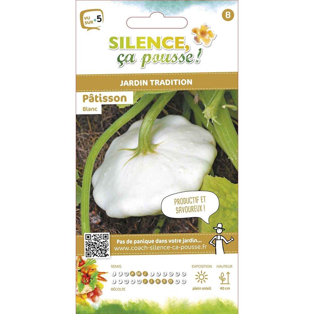 Semences de patisson blanc 3g