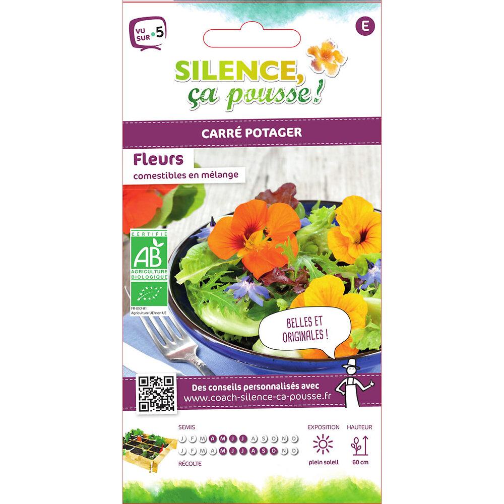 Semences de fleurs comestibles en mélange 2.5g bio