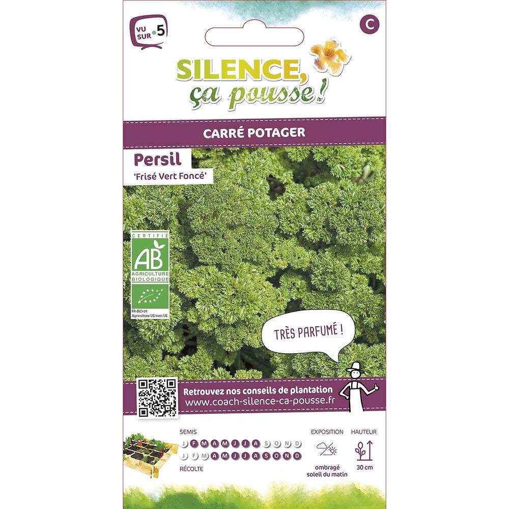 Semences de persil frisé vert foncé 4.5g bio