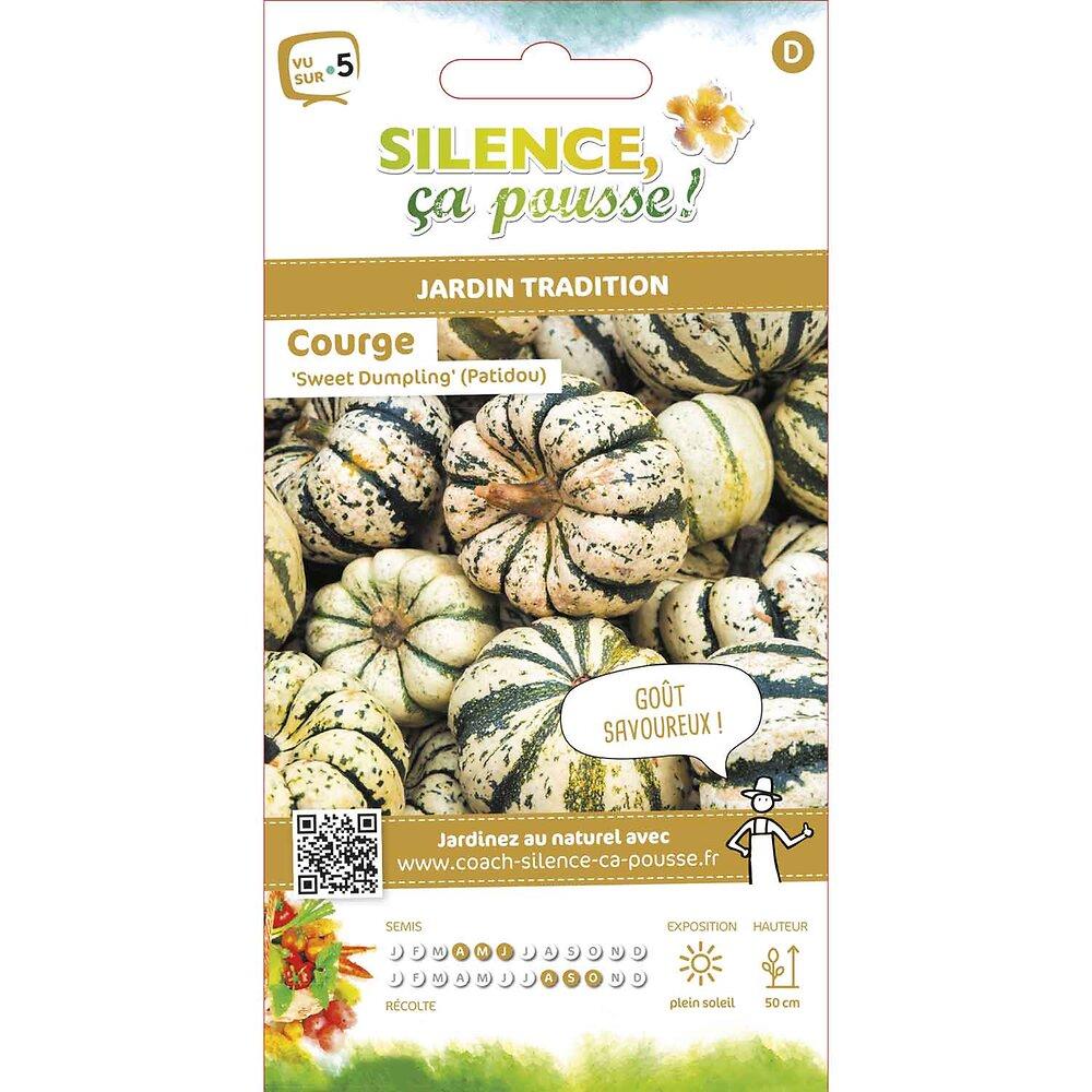 Semences de courge sweet dumpling/patidou 3g