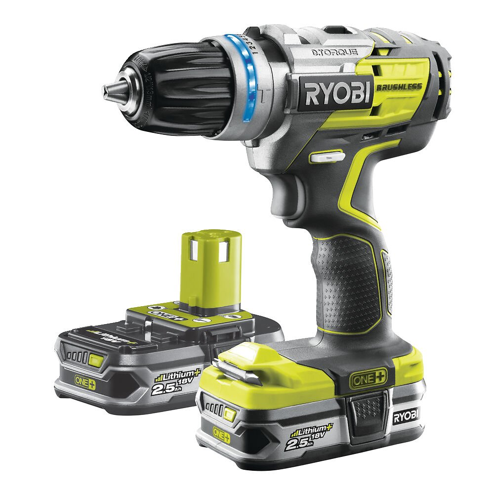 Perceuse à percussion BRUSHLESS R18PDBL-225S
