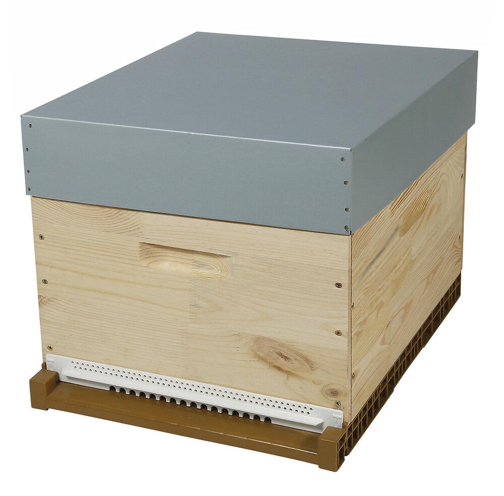 Pribois ruche dadant 10 cadres + cadres /sans hausse