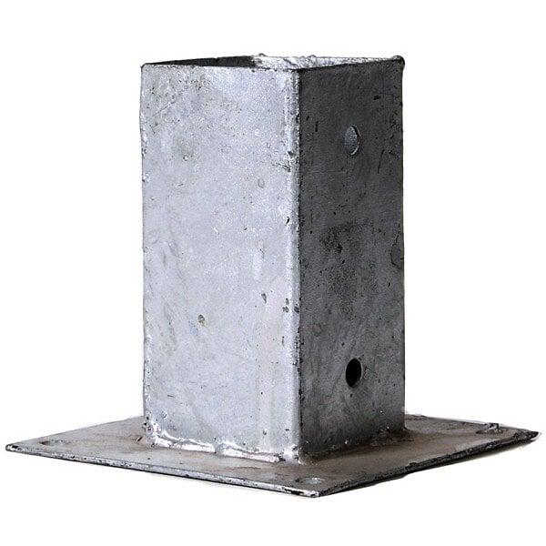 Support métal à poser