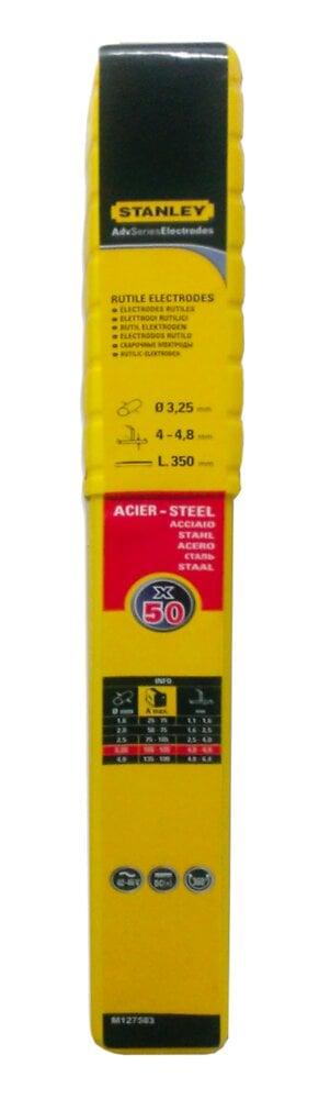 Lot 50 électrodes acier diamètre 3.25mmx350mm