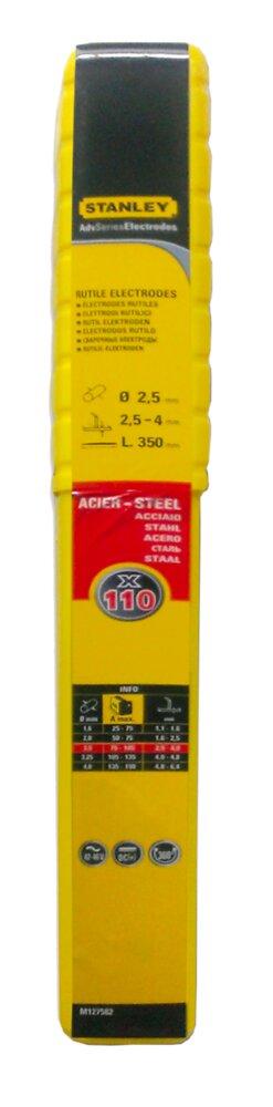 Lot 110 électrodes acier diamètre 2.5mmx350mm
