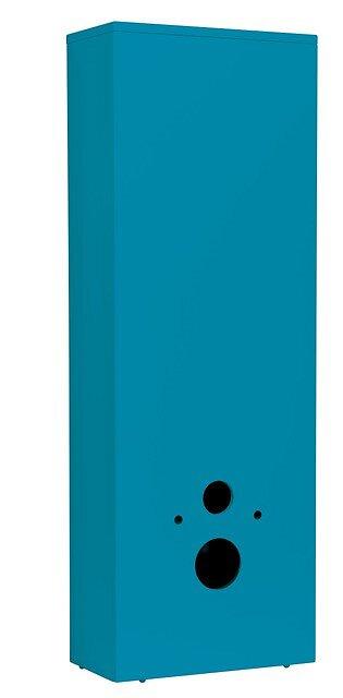 Coffrage WC bleu lagon 1230x475x241cm