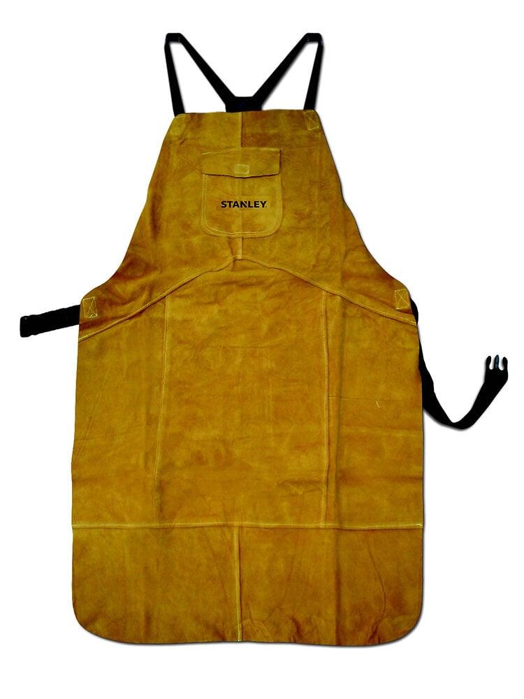 Tablier de soudure en cuir