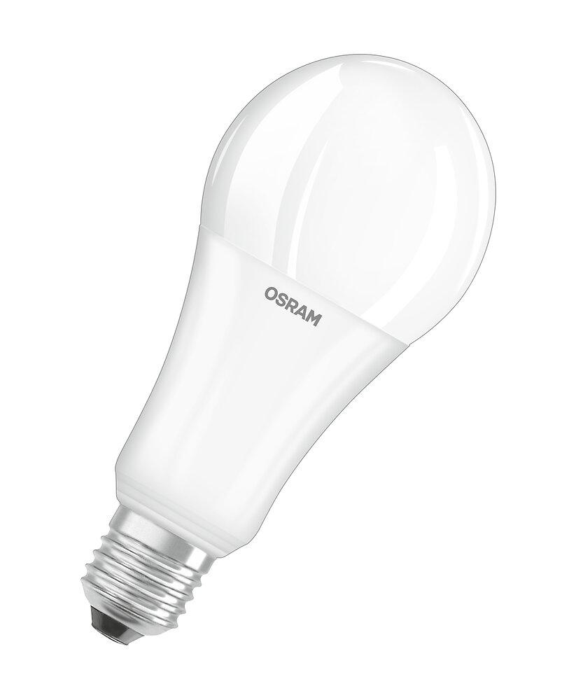 Ampoule led standard dépoli 20W=150W E27 blanc chaud