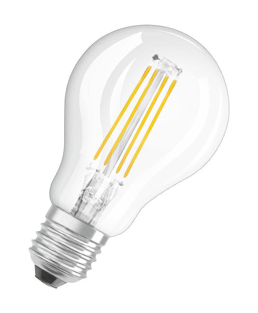 Ampoule led retrofit sphérique filament 4W=40W E27 blanc chaud