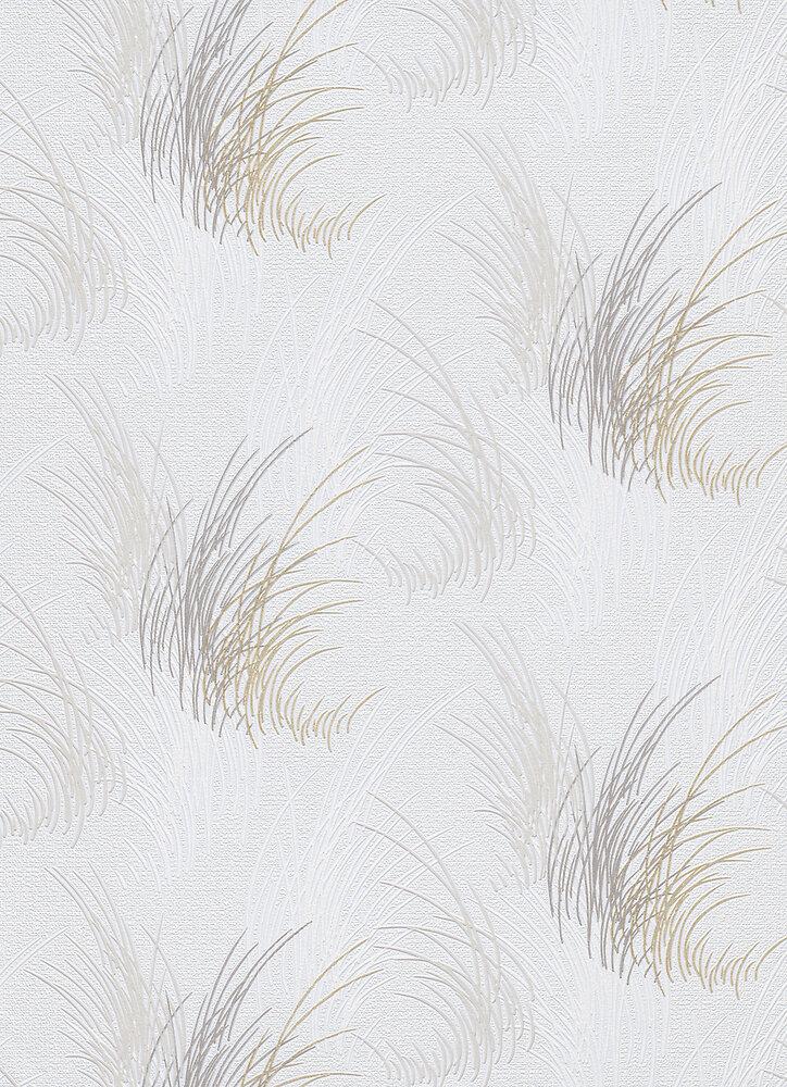 Vinyle expansé sur intissé herbes grises