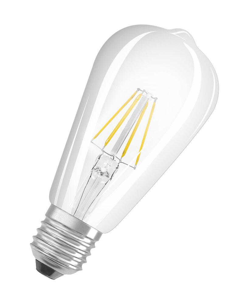 Ampoule led retrofit Edison filament 4W=40W E27 blanc chaud