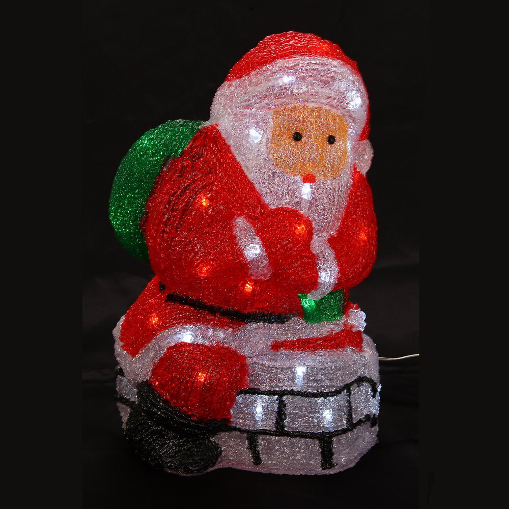 PERE NOEL SOLAIRE 40 LEDS