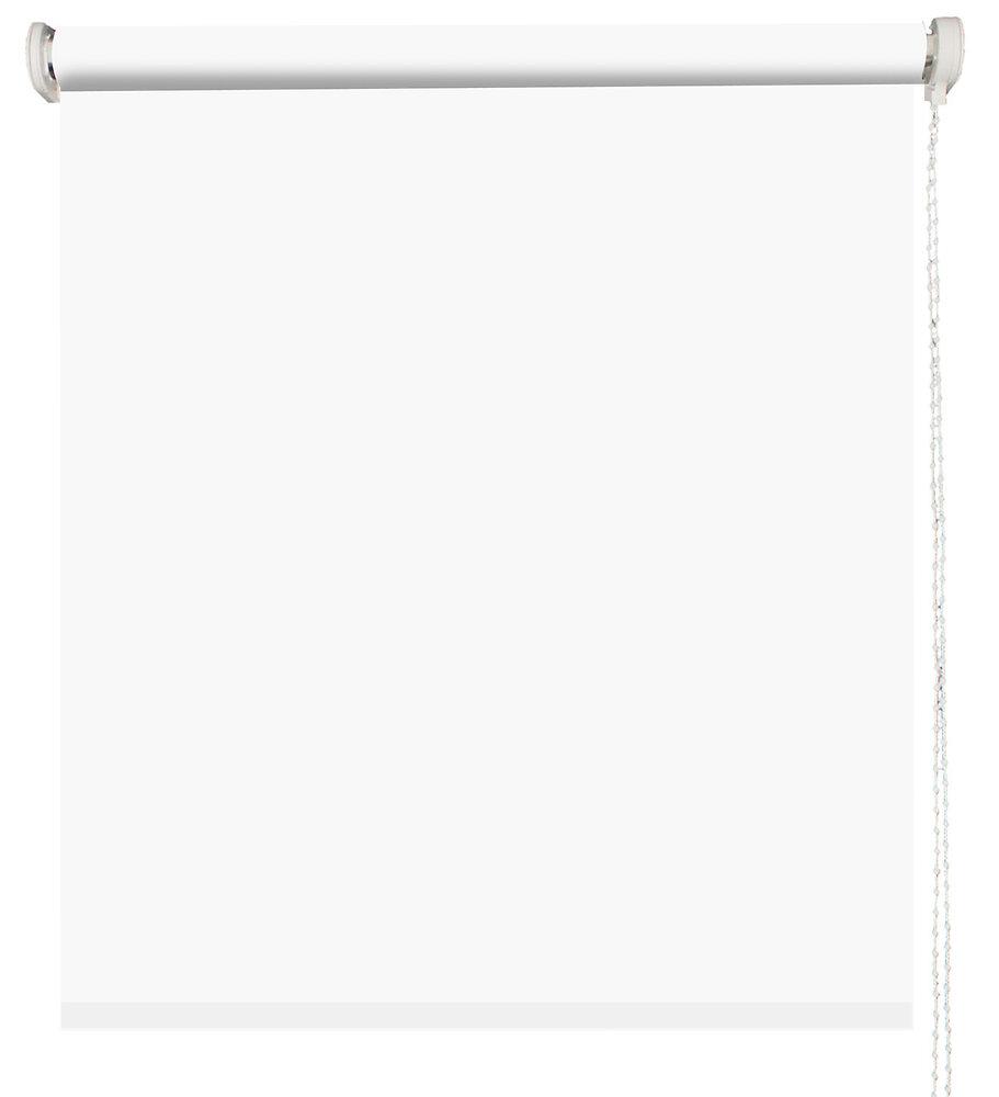 Store enrouleur uni tamisant blanc l.90xh.160cm