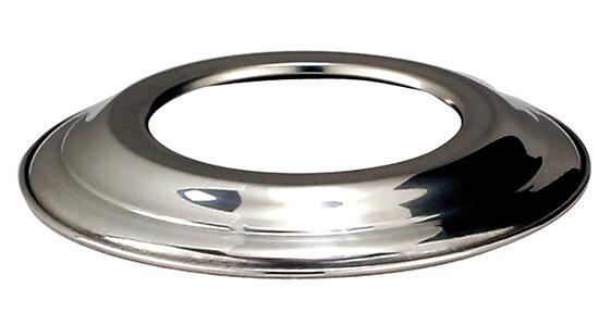 Rosace aluminium DISTRIWEST diamètre 112 mm