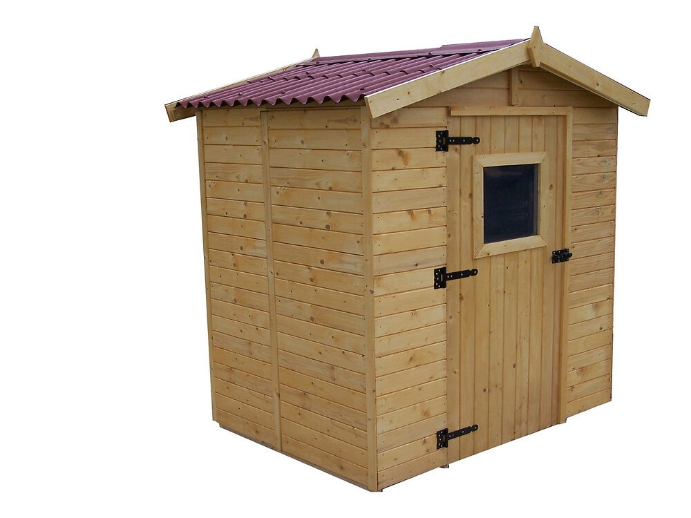 Abri panneau bois massif 16mm 3,37 m2