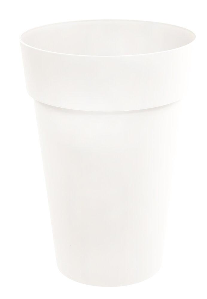 Pot de fleurs vase haut Toscane d.46cm 67L blanc