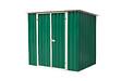 Abri métal HABRITA 2,25 m2 double porte largeur 103 cm hauteur 165 cm