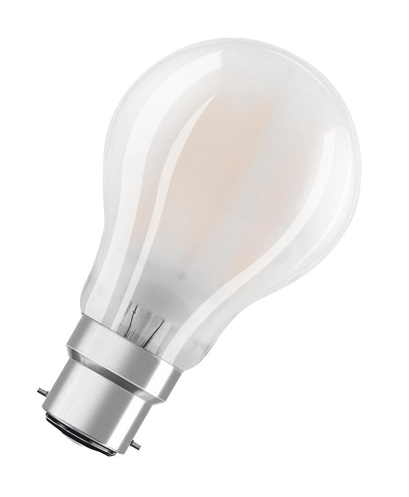 Ampoule led standard verre dépoli 7W=60W B22 chaud