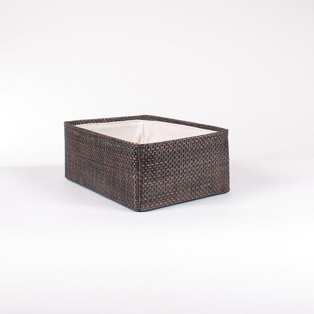 Tiroir en textaline petit modèle bronze