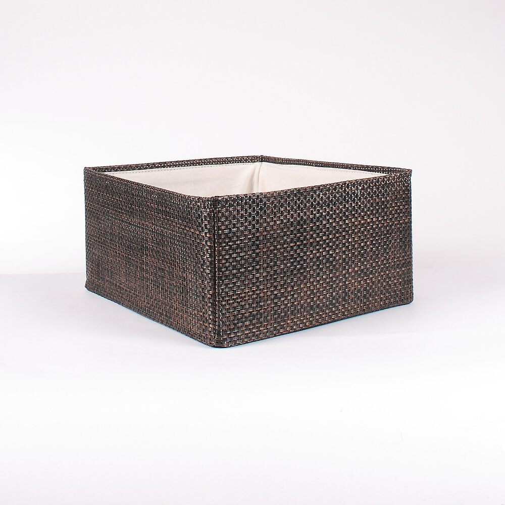 Tiroir en textaline grand modèle bronze