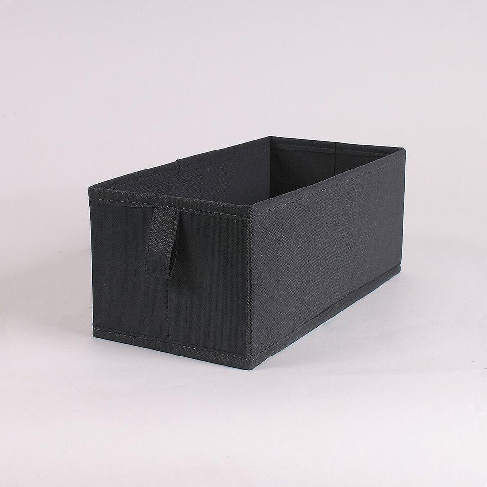 Tiroir pliable intissé gris petit modèle