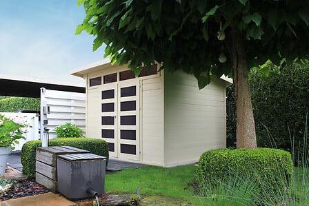 Abri de jardin 28 mm VERONA 300 x 240 cm
