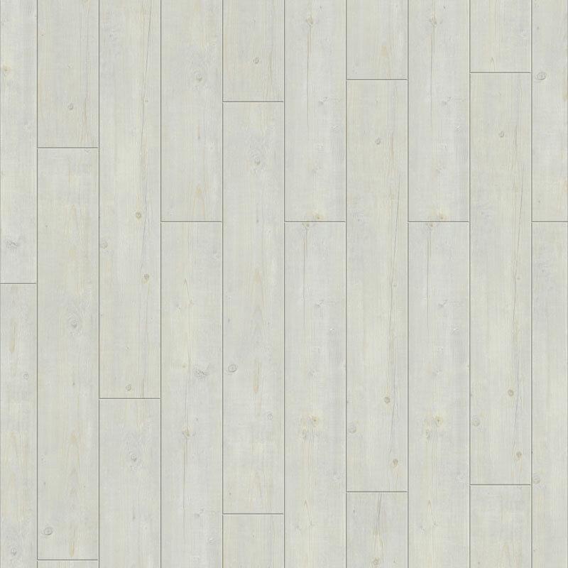 Revêtement de sol design Starfloor click Washed pine snow 2.009m2