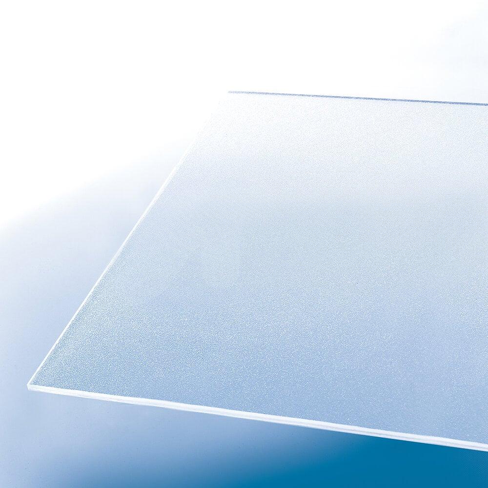 Plaque styrène ice 2.50mm 0.50x0.50m
