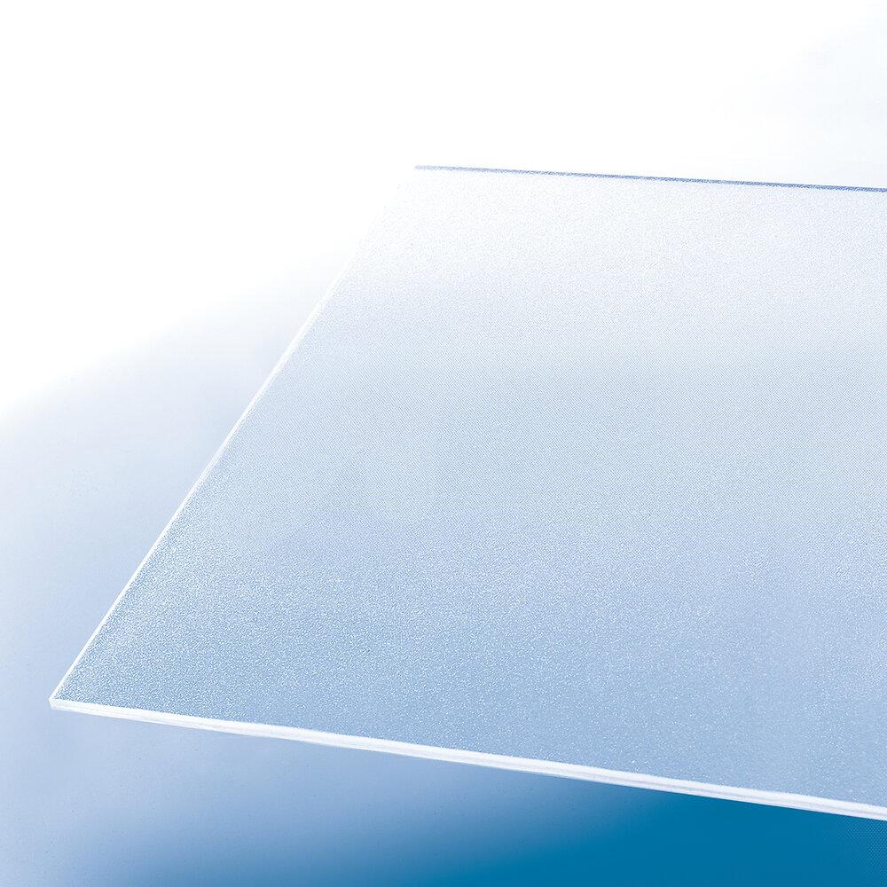 Plaque styrène ice 2.50mm 0.50x1m