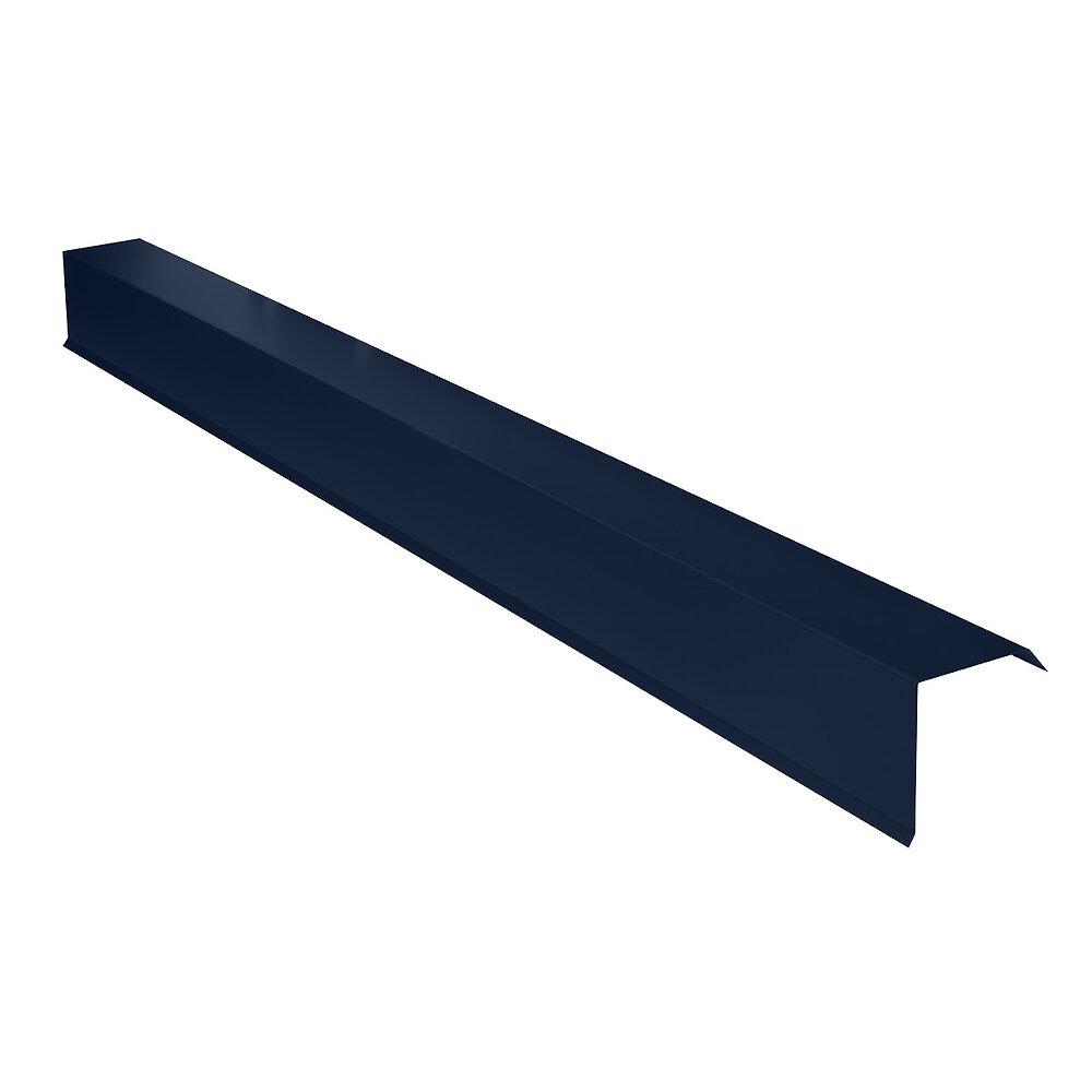 Rive pour plaque nervurée bleu Lg.2100mm