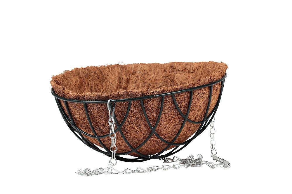 Corbeille fibre de coco diamètre 25cm