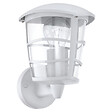 Applique montante Aloria E27 60W blanc