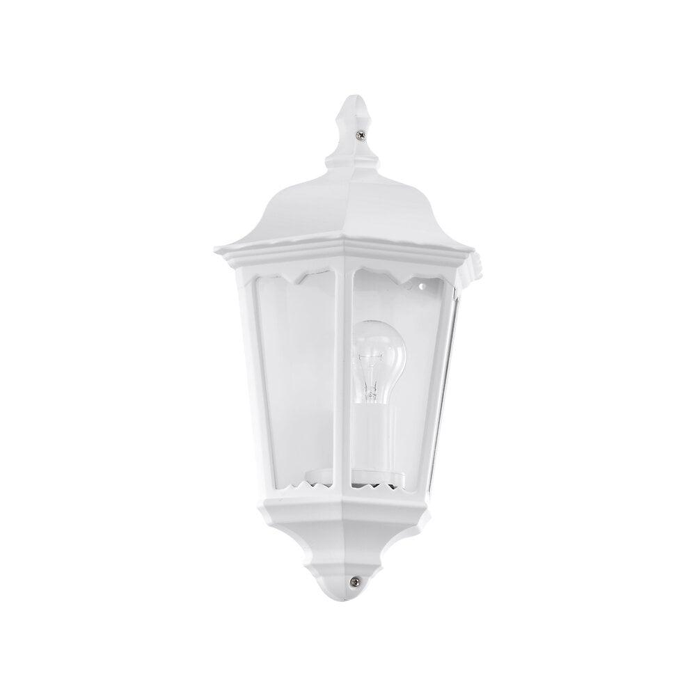 Demi-applique Navedo E27 60W blanc