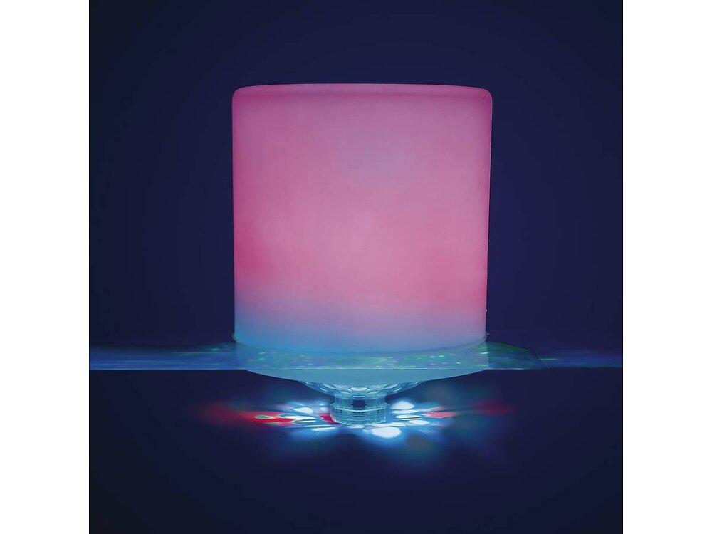 Cylindre À Led Flottant - Ø 12,7 X 17,5 Cm