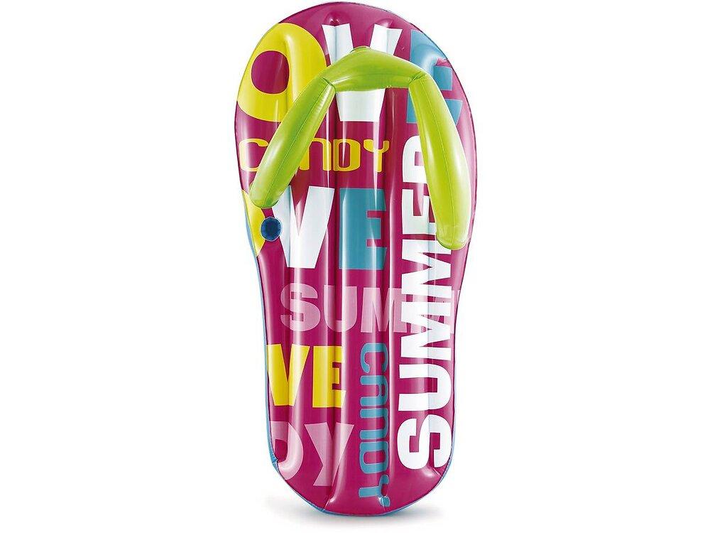 """Tongue Gonflable """"flip Flop Lounge"""" - 180 X 86 X 46 Cm"""