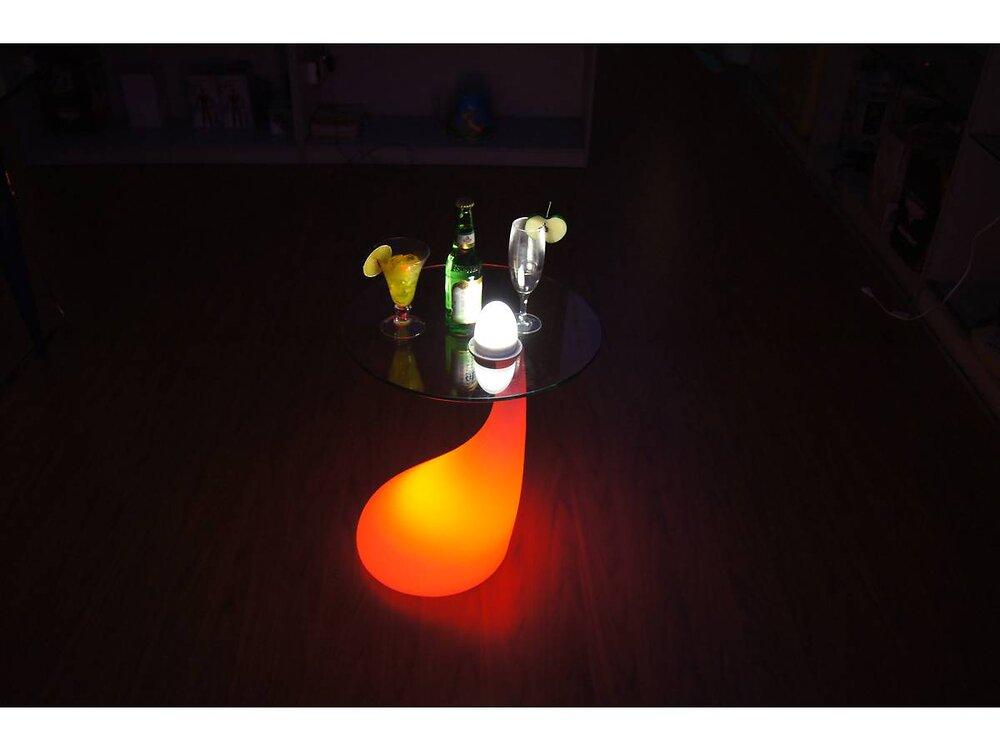 Table Basse Lumineuse Milan - Led Multicolore - 39
