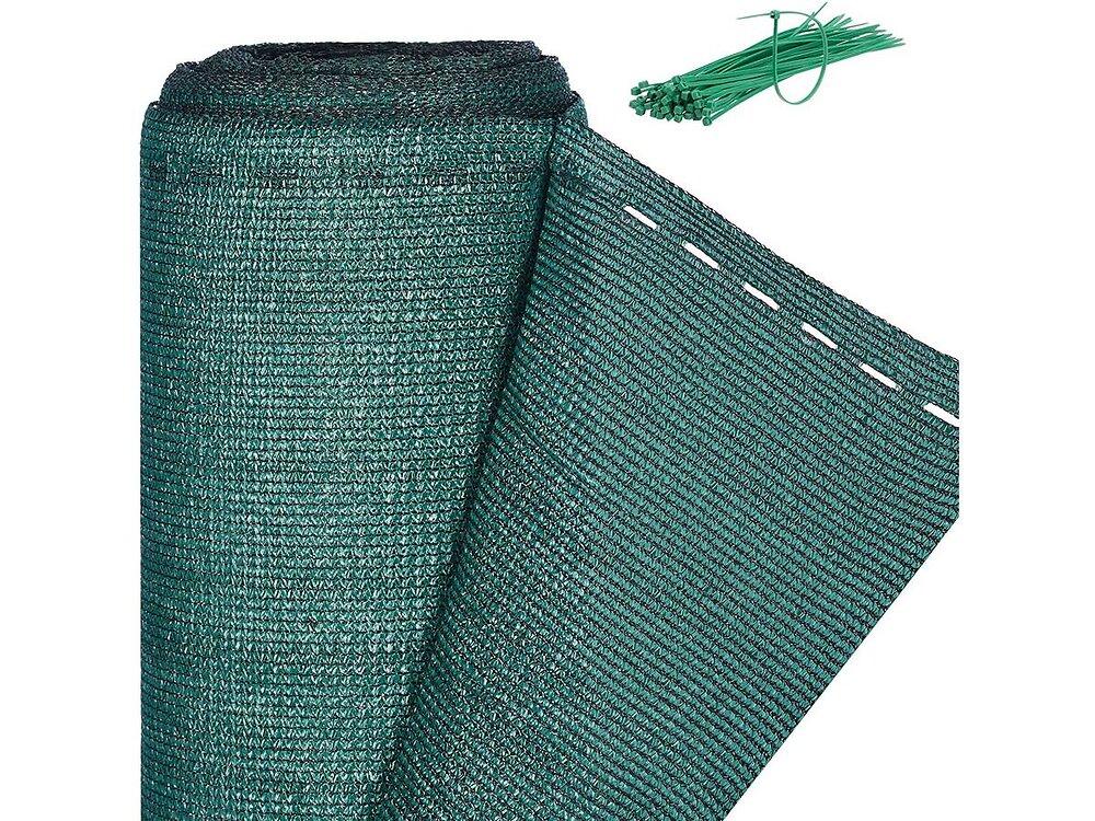 """Brise Vue Synthétique """"verdo"""" - 1.2 X 10 M - 90g/m² - Vert"""