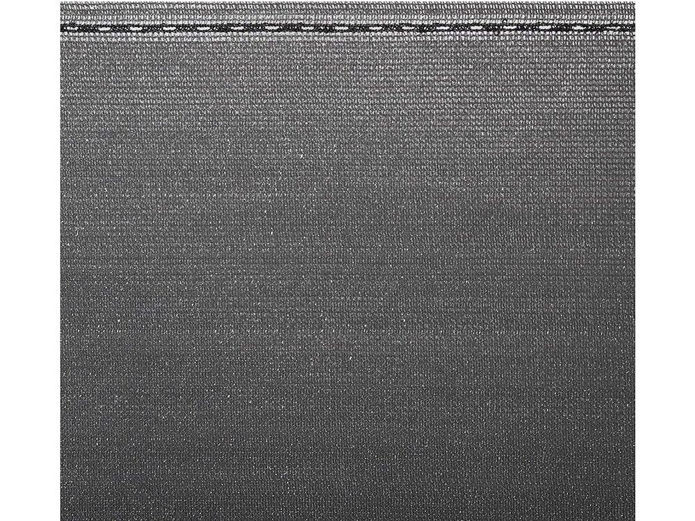 """Brise Vue Synthétique """"verdo Pro"""" - 1 X 10 M - 220g/m² - Gris"""
