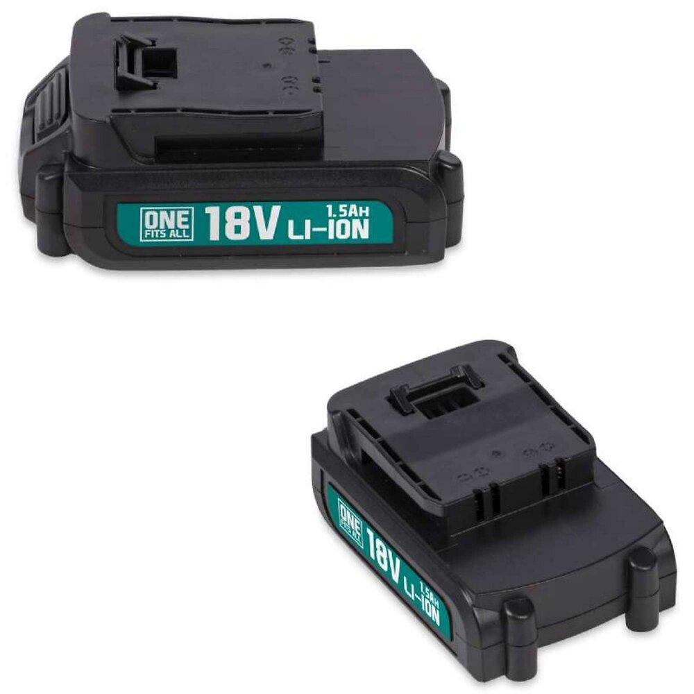 Batterie 18v Li-ion Lithium 1,5ah