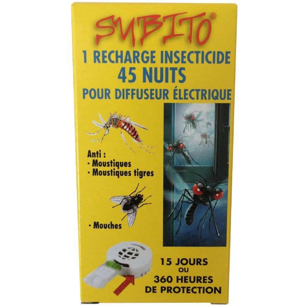 Recharge Insecticide Anti Moustiques Pour Diffuseur