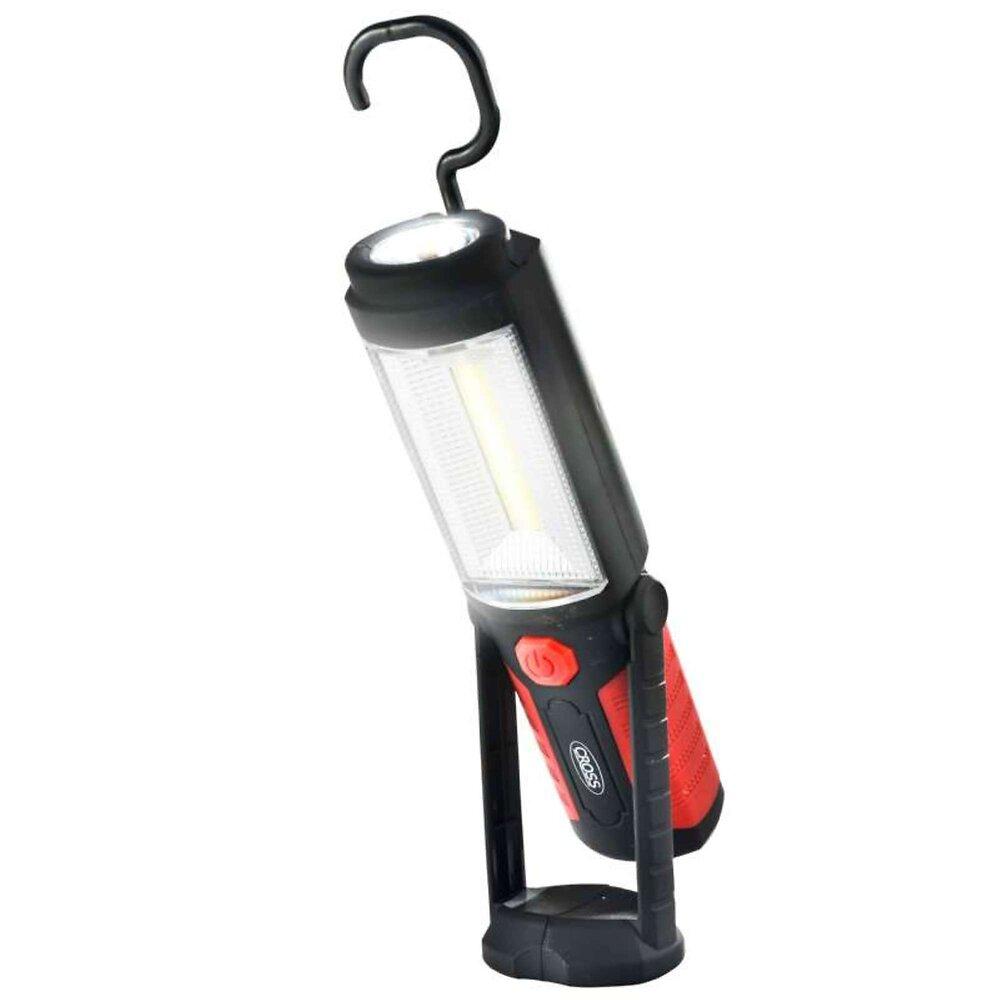 Lampe Torche Aimantée À 2 Led 3 W Plus 0,5 W