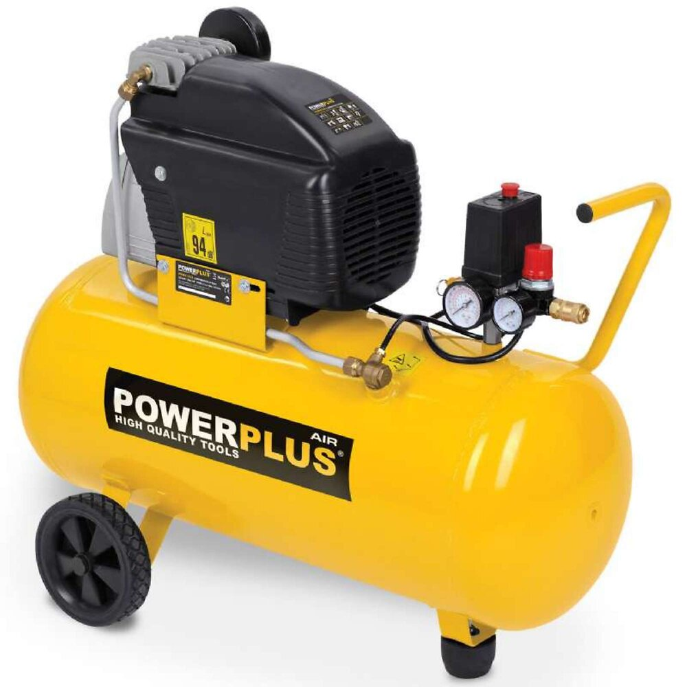 Compresseur Powerplus 50 Litres 2cv 1500w