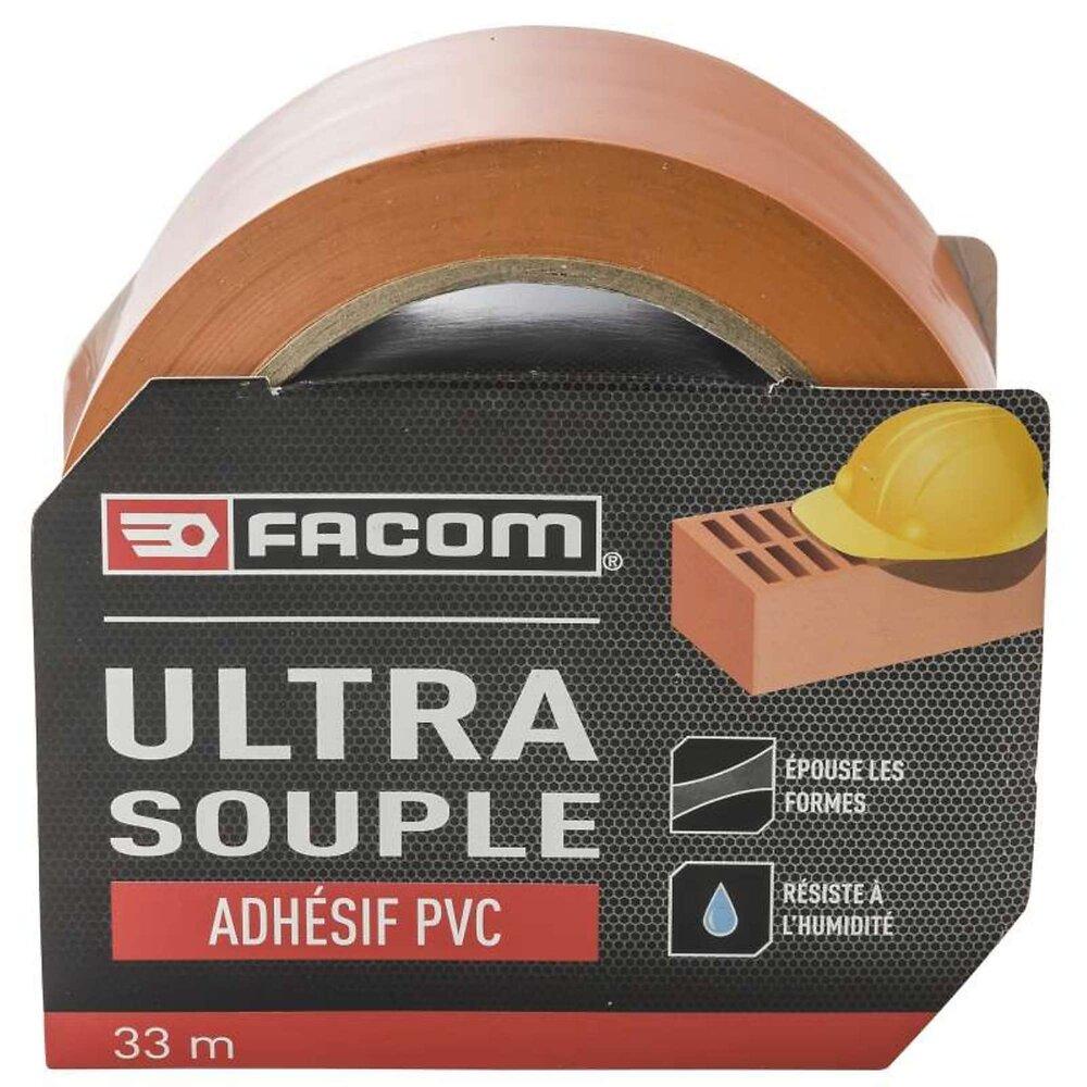 Ruban Adhesif Pvc Orange 33mx50mm Facom