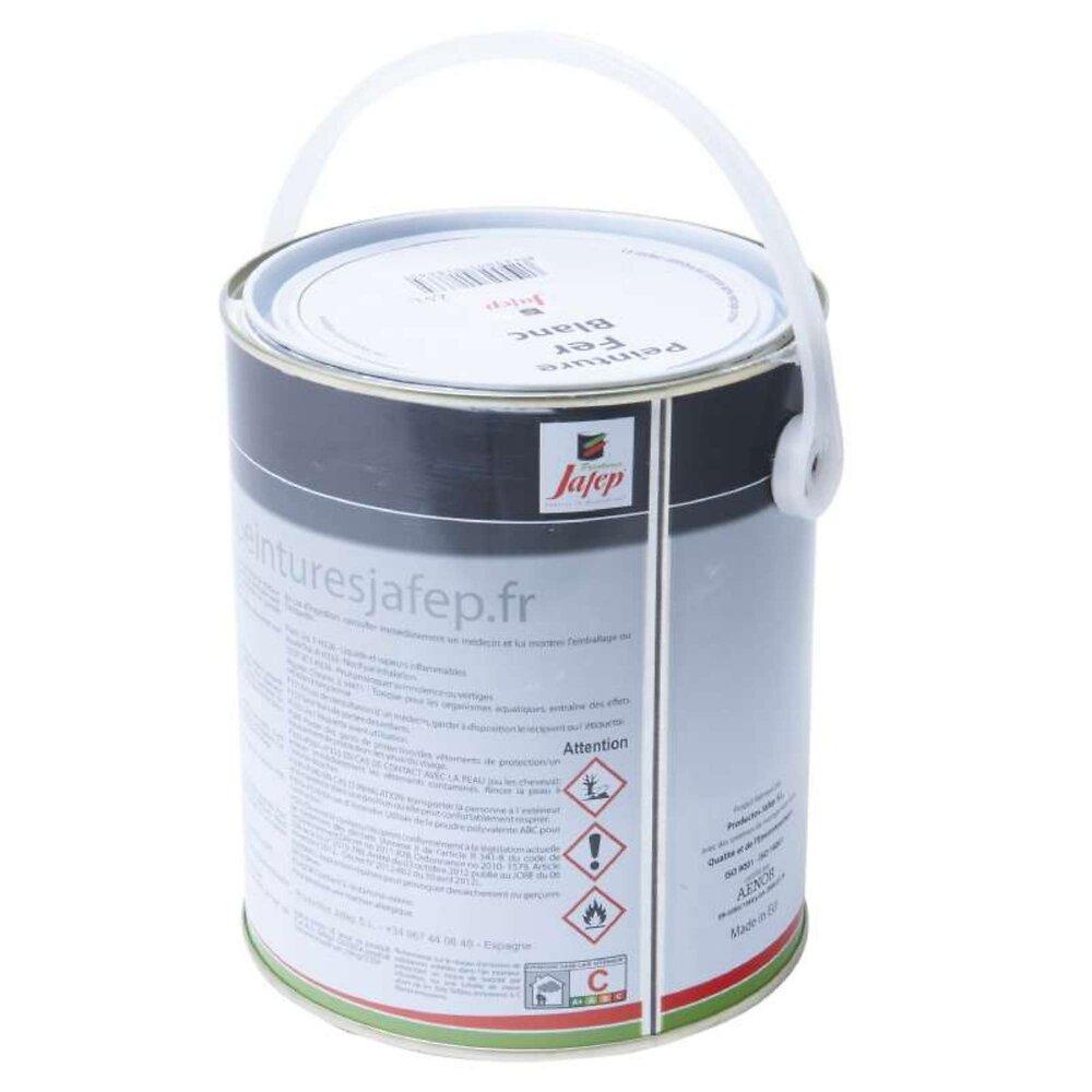 Peinture Fer Antirouille Blanc Jafep 2,5 L