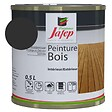 Peinture Bois Gris Anthracite Jafep 0,5 L