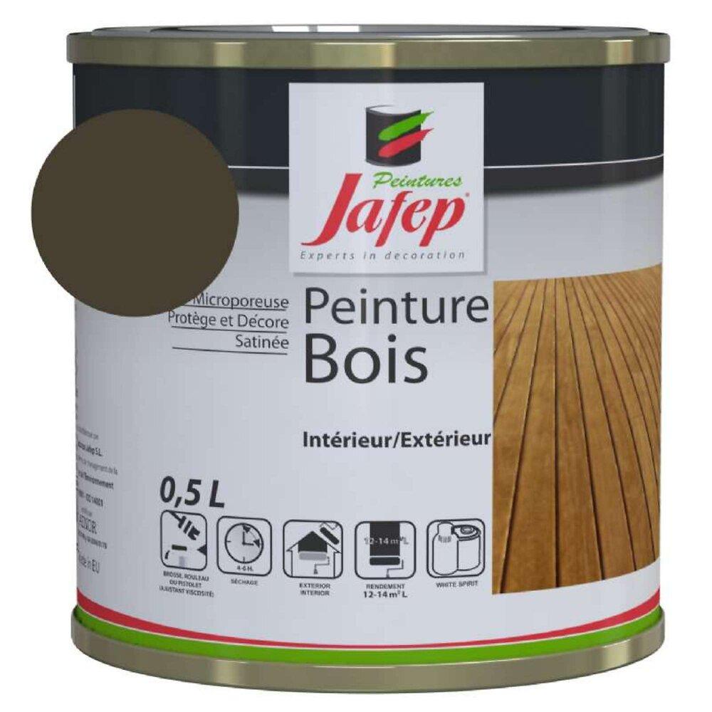 Peinture Bois Taupe Jafep 0,5 L
